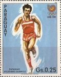Stamps Paraguay -  Seoul 1988