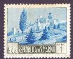 Sellos del Mundo : Europa : San_Marino :  RESERVADO MANUEL BRIONES