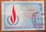 Stamps of the world : Chile :  Derechos Humanos