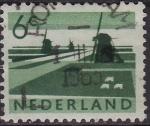 Stamps Netherlands -  Molinos de viento