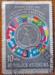 Sellos de America - Argentina -  Conferencia de ejercitos