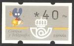Sellos de Europa - España -  ATMs - Año Santo Jacobeo