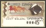 Stamps : Europe : Spain :  ATMs - Exposición mundial de filatelia