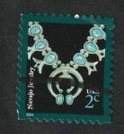 Stamps : America : United_States :  3573 - Alhaja  Navajo