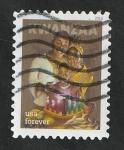 Stamps : America : United_States :  5170 - Kwanzaa, Familia afroamericana