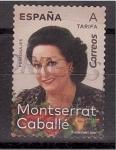 Stamps : Europe : Spain :  M. Caballé