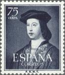 Sellos de Europa - España -  ESPAÑA 1952 1107 Sello Nuevo Centenario Fernando el Católico