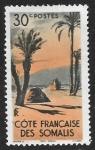 Stamps Africa - Somalia -  Côte Francaise des Somalis