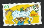 Stamps Europe - Germany -  3285 - Pippi Calzaslargas