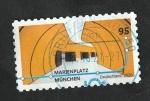 Stamps Europe - Germany -  3316 - Estación del Metro de MarienPlatz en Munich
