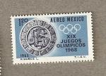 Sellos de America - México -  Juegos Olimpicos 1968