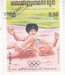 Stamps : Asia : Cambodia :  OLIMPIADA LOS ANGELES