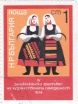 Stamps : Europe : Bulgaria :  TRAJES REGIONALES
