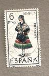 Sellos de Europa - España -  Trajes regionales, Almería