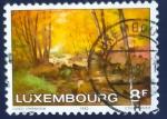 sello : Europa : Luxemburgo : Pinturas