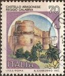 Stamps Italy -  Castillos Italianos