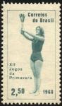 Sellos de America - Brasil -  XII Juegos de Primavera.