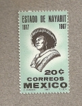 Stamps Mexico -  Estado de Nayarit