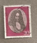 Stamps Germany -  Gottfried Willhem Leibnitz