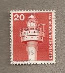 Stamps Germany -  Torre de comunicacionesd
