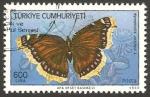 Sellos de Asia - Turquía -  mariposa