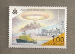 Stamps Russia -  Rompehielos