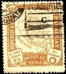 Stamps America - Paraguay -  Mapa del Chaco. El Chaco Boreal, ha sido, es y será del Paraguay.