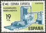 Sellos de Europa - España -  2566 - España exporta maquinaria y herramientas