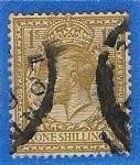 Stamps United Kingdom -  Rey Jorge V