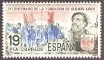Sellos de Europa - España -  2584 - IV centº de la fundación de Buenos Aires, Juan de Garay