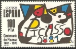 Sellos de Europa - España -  2609 - Homenaje a Pablo Ruiz Picasso