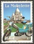 Stamps France -  3472 - transporte, la mobylette