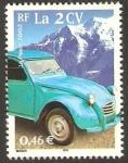 Sellos de Europa - Francia -  3474 - transporte, 2CV
