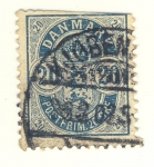 Stamps Europe - Denmark -  Escudo