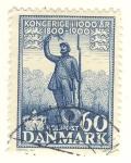 Stamps Denmark -  centenario