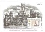 Stamps Spain -  H.B. 150 aniversario primer sello español