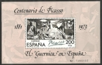 Stamps of the world : Spain :  Centº de Picasso, El Guernica en España