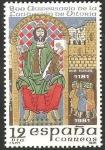 Stamps Spain -  2625 - 800 anivº de la fundación de Vitoria, Sancho VI de Navarra