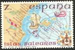 Sellos de Europa - España -  2622 - España insular, Islas Baleares, Atlas de Diego Homen