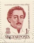 Stamps Hungary -  KATONA JOZSEF 1791-1830