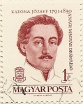 Sellos de Europa - Hungría -  KATONA JOZSEF 1791-1830