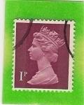 sello : Europa : Reino_Unido : Reina Isabel II