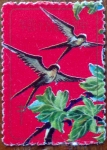 Stamps China -  Aves