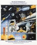 Sellos del Mundo : Oceania : Palau : 20 Aniversario Apolo 11
