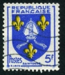 Sellos de Europa - Francia -  Escudo - Saintonse