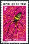 Sellos de Africa - Chad -  Araña
