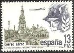 Stamps Spain -  2635 - Exposición Iberoamericana de 1929, Plaza de España en Sevilla