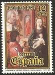 Sellos de Europa - España -  2633 - Navidad, La Adoración de los Reyes, de Juan de Flandes