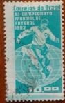Sellos del Mundo : America : Brasil : Mundial de Futbol