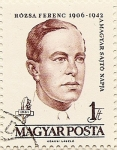 Stamps Hungary -  ROZSA FERENC 1906-1942